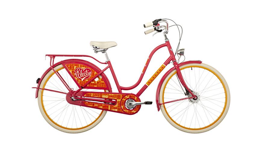 Electra Amsterdam Fashion 3i omafiets Dames roze